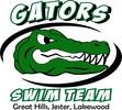 Gators Swim Team Logo