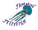Jammin' Jellyfish Swim Club Logo