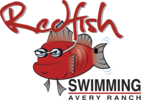 Redfish Swimming Logo