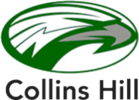 Collins Hill Middle School Swim Team Logo