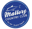 Mallory Country Club Dolphins Logo