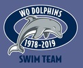 Western Oaks Dolphins Swim Team Logo