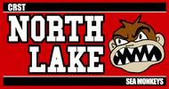 North Lake Sea Monkeys Logo