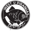 West U Piranhas Logo