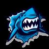 Gulf Park Blue Sharks Logo