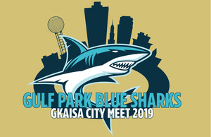 GKAISA City Meet 2019 Gold Latex cap