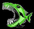Hidden Forest Piranhas Swim Team Logo