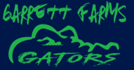 Garrett Farms Swim Team Logo