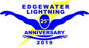 Edgewater Lightning Swim Team Logo