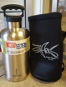64oz Hot/Cold liquid Growler w/ Bag