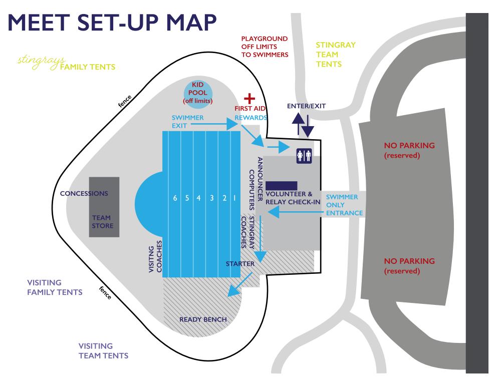 Meet Set-up Map