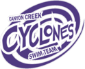 CANYON CREEK CYCLONES SWIM TEAM Logo