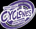 CANYON CREEK CYCLONES SWIM TEAM Logo