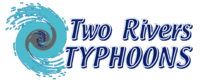 Two Rivers Typhoons Logo