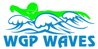 WGP Waves Swim Team Logo
