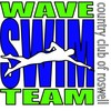 Country Club of Roswell Wave Swim Team Logo