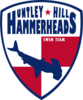 Huntley Hills Hammerheads Swim Team Logo