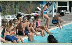 Click on Swim Meet Tab for volunteer signup