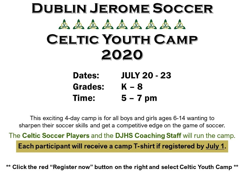 Celtic Youth Camp 2020