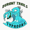 Durant Trails Typhoons Swim Team Logo