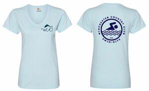 Women's Relaxed V-neck T-shirt
