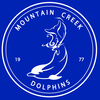 Mountain Creek Dolphins Swim Team Logo