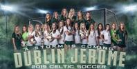 Jerome Girls Soccer Logo