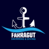 Farragut High School Swim & Dive Logo