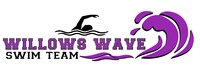 Willows Wave Swim Team Logo