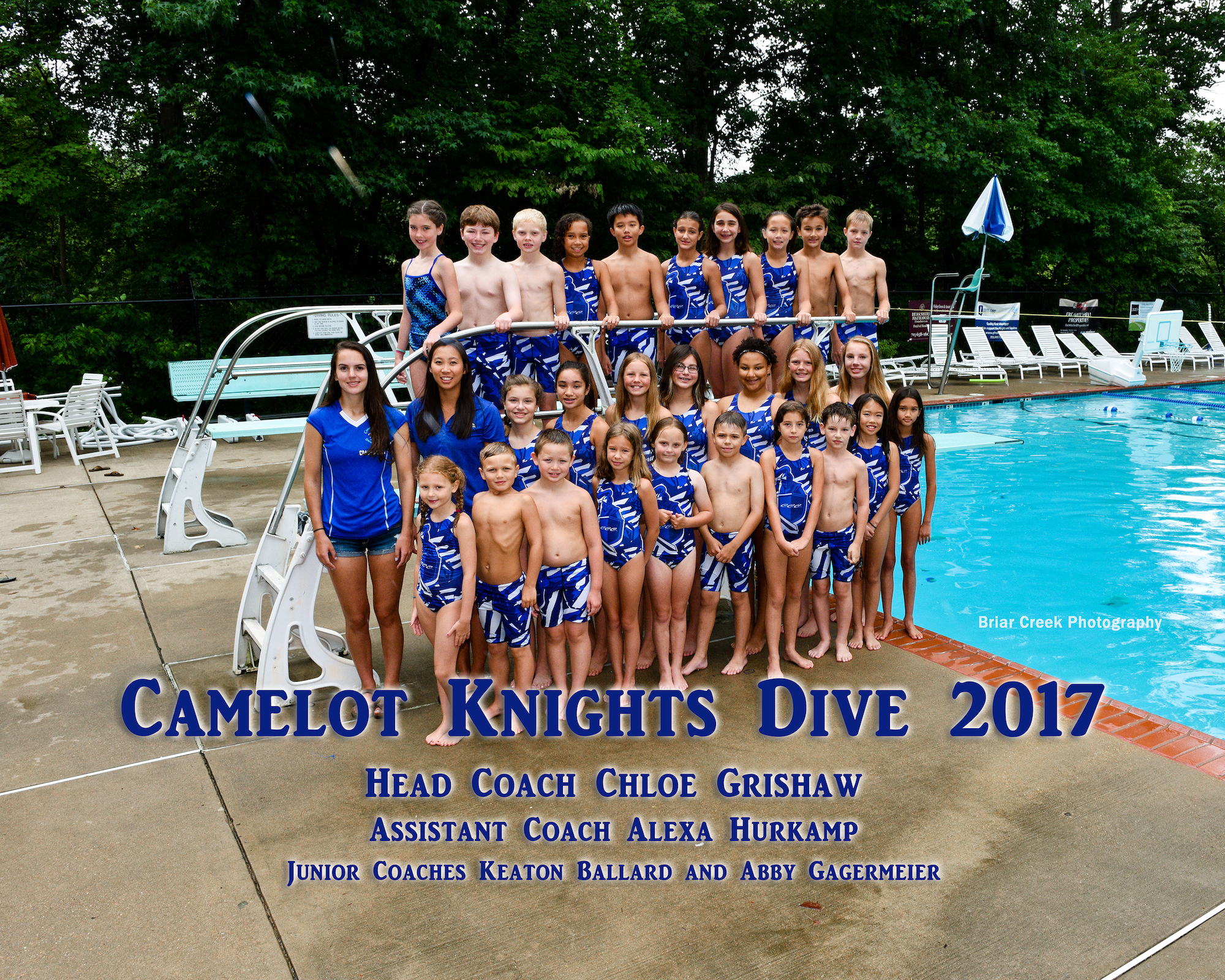 Picture of 2017 Knights Dive Team