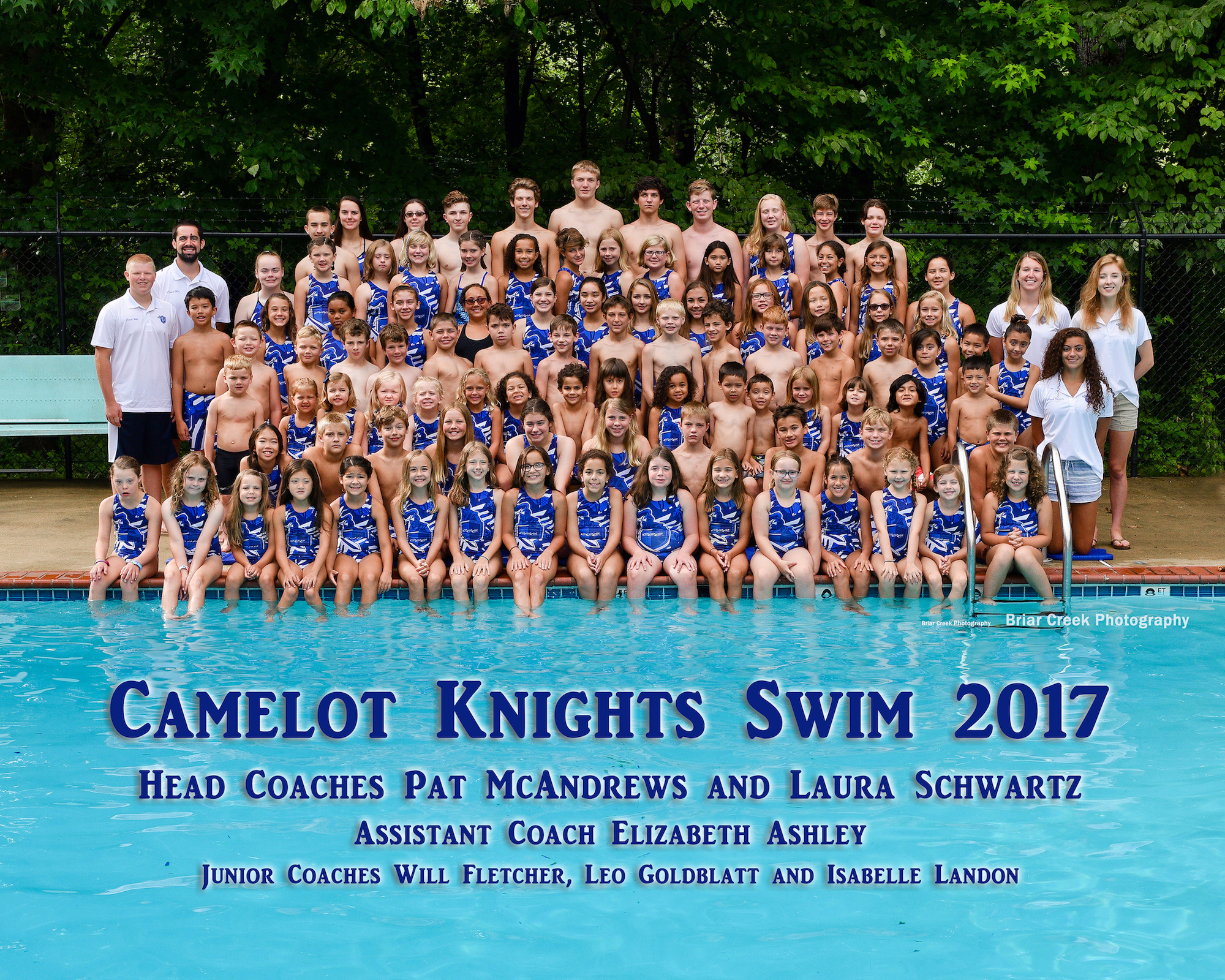 Picture of 2017 Knights Swim Team