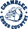 Chamblee Bulldog Cross Country Logo