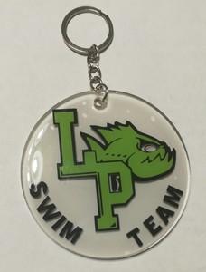 LP Swim Team Keychain