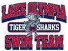 Lake Olympia Tiger Sharks Logo
