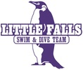 Little Falls Penguins Swim and Dive Teams Logo