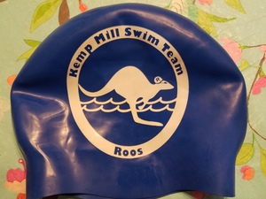 Official Kemp Mill Kangaroo Swim Cap 2018