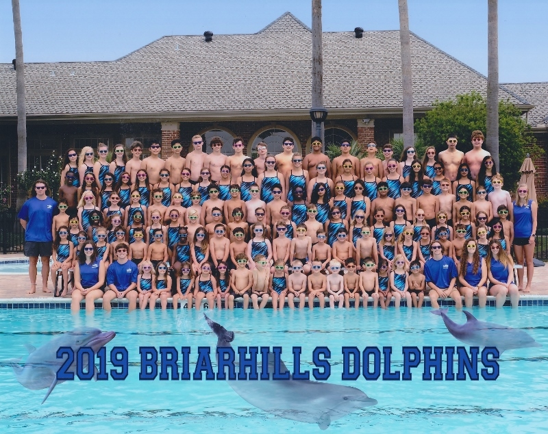 BriarHills Swim Team Picture