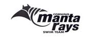 Corning Manta Rays Swim Team Logo