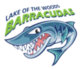 Lake of the Woods Barracudas Logo