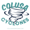Colusa Cyclones Swim Team Logo
