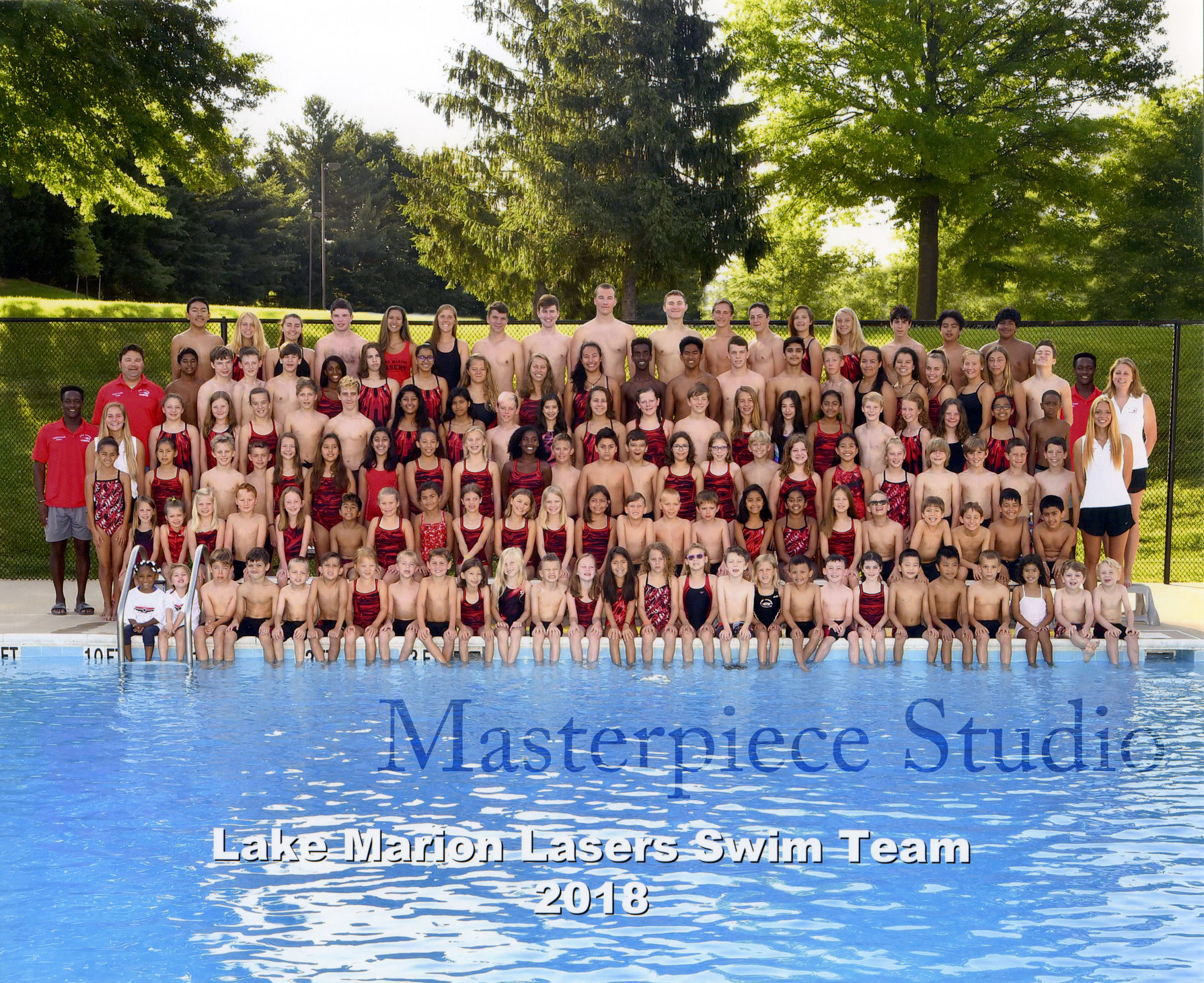 Lake Marion Lasers 2018 Swim Team