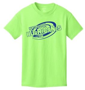 2018 Hurricanes Swim Team T-Shirt (short-sleeved)