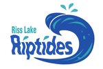 Riss Lake Riptides Swim Team Logo