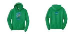 2021 Team Hoodie Sweatshirt with Frog Logo