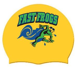 2019 FAST Frogs Silcone Swim Cap (Qty: 1)