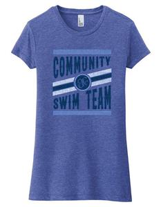 2021 - T-Shirt - Blue - Ladies Fit
