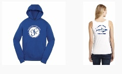 You may order hoodies, t-shirts, and tanks during registration!