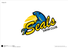 Pinole Seals Swim Team Logo