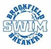 Brookfield Breakers Swim Team Logo