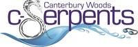 Canterbury Woods Swim Team Logo